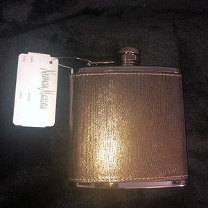 Fancy 6 oz stainless steel flask